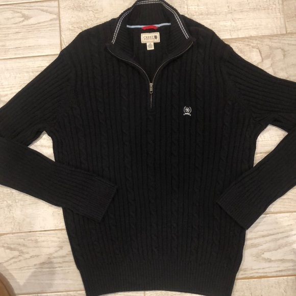 Tommy Hilfiger Other - Crest by Tommy Hilfiger Half Zip Pullover Sweater